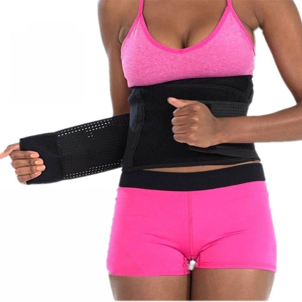 83c76fbd79224 2019 Waist Slimming Body Sculpting Belt Fitness Girdle Weight Loss Waist  Trainer Corset Slimming Trainer Belt From Cailey