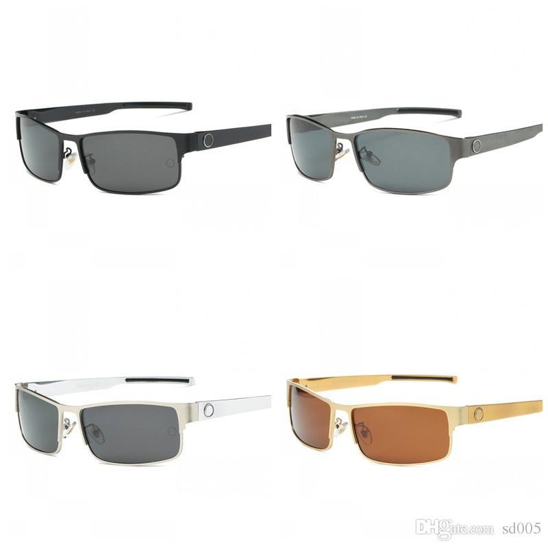 d8de6801d0a7e Compre Óculos De Sol Polarizados Homens Mercedes Marca Designer Masculino  Óculos De Sol Gafas Oculos Aviador De Sol Masculino Polarizado Novo 41bc ZZ  De ...