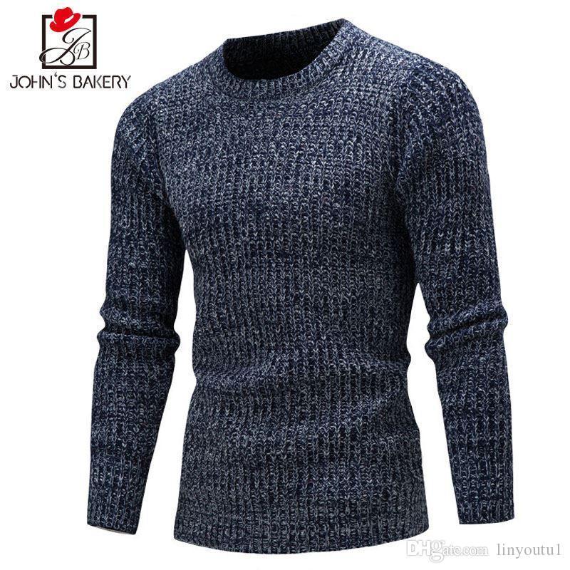 13c911ea3d44 Großhandel Pullover Männer 2018 Marke Pullover Casual Pullover Männlich  Oansatz Multi Color Slim Fit Stricken Herren Pullover Mann Pullover Männer  Xxl Dx ...
