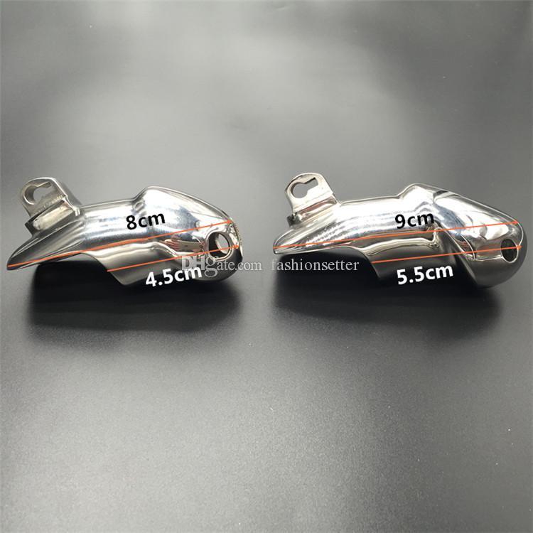 Kit de ceinture de chasteté en acier inoxydable pour hommes Kit de ceinture en métal de luxe HT Mise à jour de la version Jouets de servitude SM