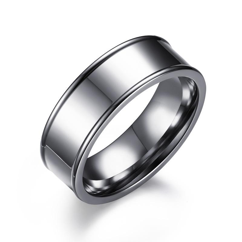 Stainless Steel Rings New Fashion English Characters Carved Mens Rings Brand Men's jewellery Stainless Steel Jewelry Men's Rings