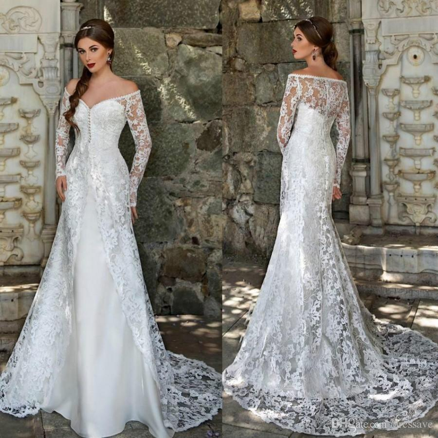 Sexy Gray Lace Wedding Dresses