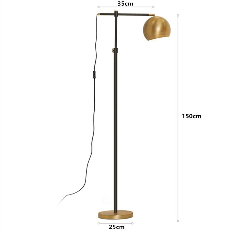 Acheter Lampadaire Moderne Bronze Lampes Sur Pied Design Reglable En