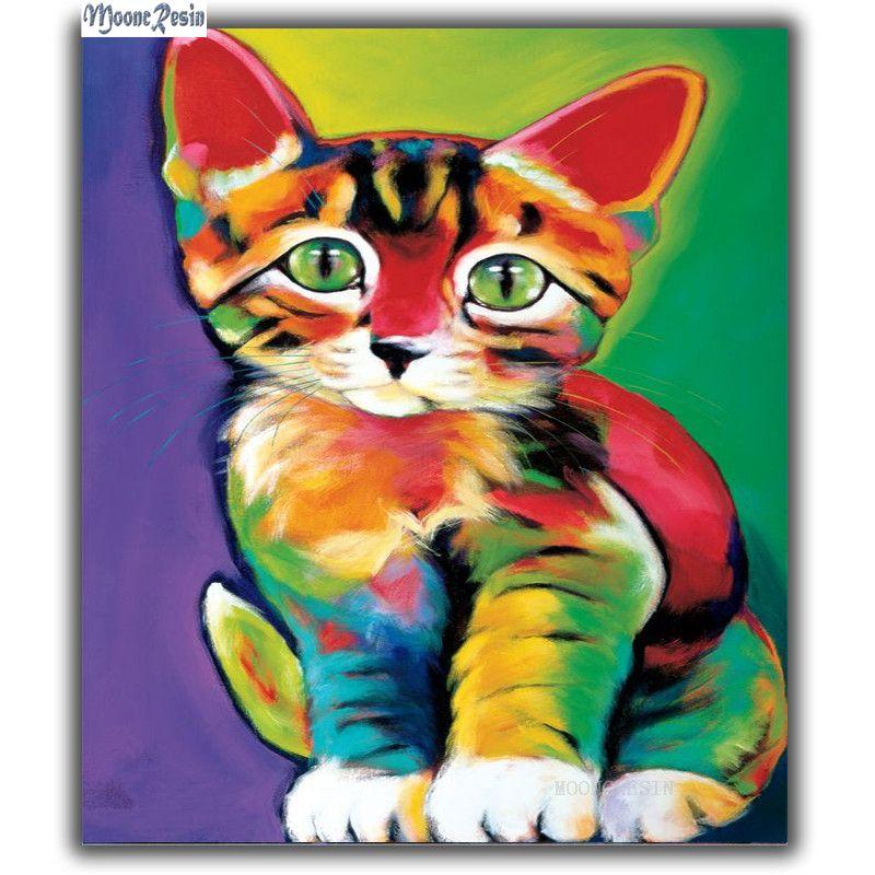 Kedi Boyama Renkleri Ust Ev Boyama Sayfasi