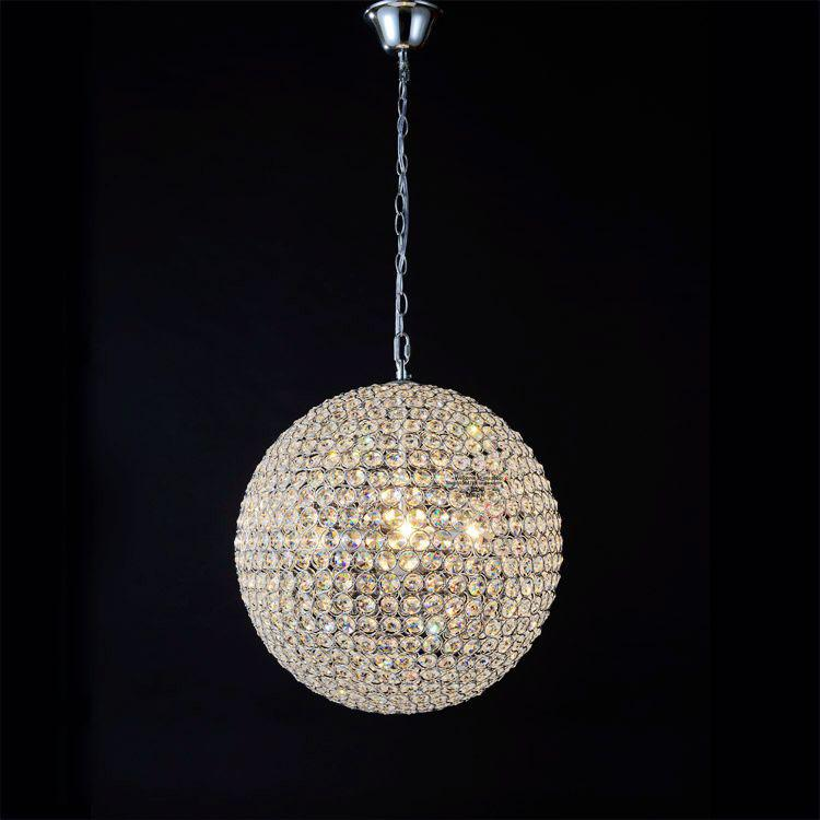 simple crystal ball pendant light. Simple Crystal Ball Pendant Lights Light Led Hanglamp Loft Decor Lamps Fixtures Hanging Lamp Living Room Dining Glass Modern I