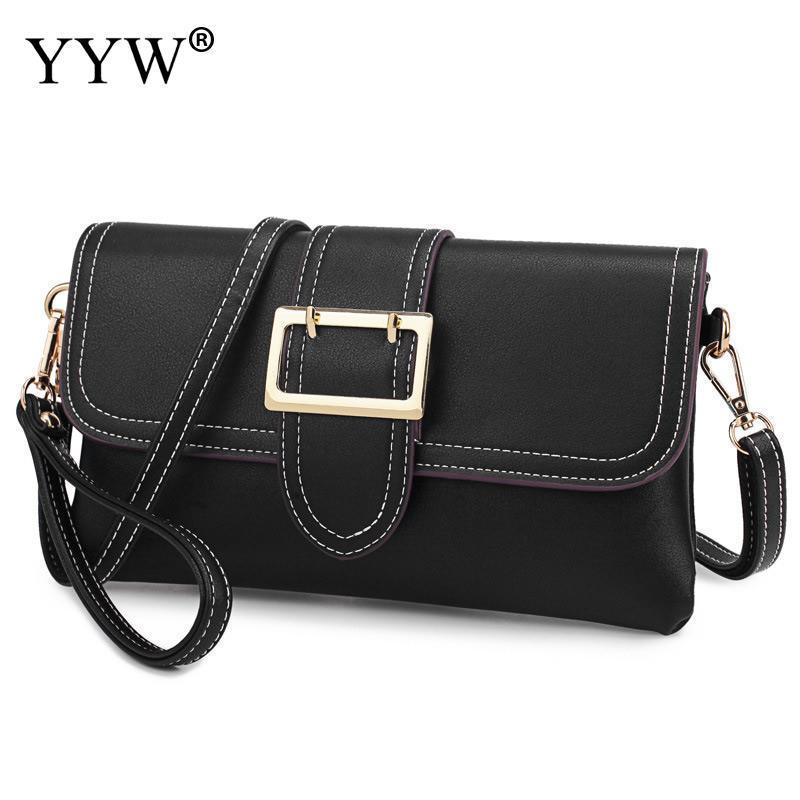 73e3fecb90a0 YYW 2018 New Designer Women S Crossbody Bag Flip Small Bag Simple Pu  Leather Shoulder Messenger Bolsas Femininas Hot Sales Designer Handbags  Crossbody Bags ...