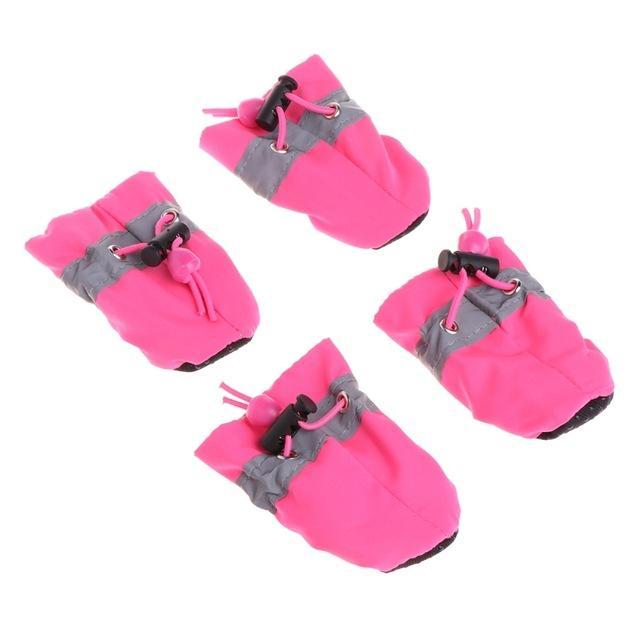Cheap Winter Warm Pet Dog Shoes for Dogs Non-slip Dog Boot Booties Waterproof Portable Shoes For Small Dog Large Sports Accessories