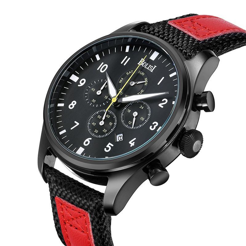 cf31607dba9 Unique Men s Watch Design Waterproof Wristwatches Clock Male Large Dial  Student Quartz Wristwatches Relogio Free Shipping Sale