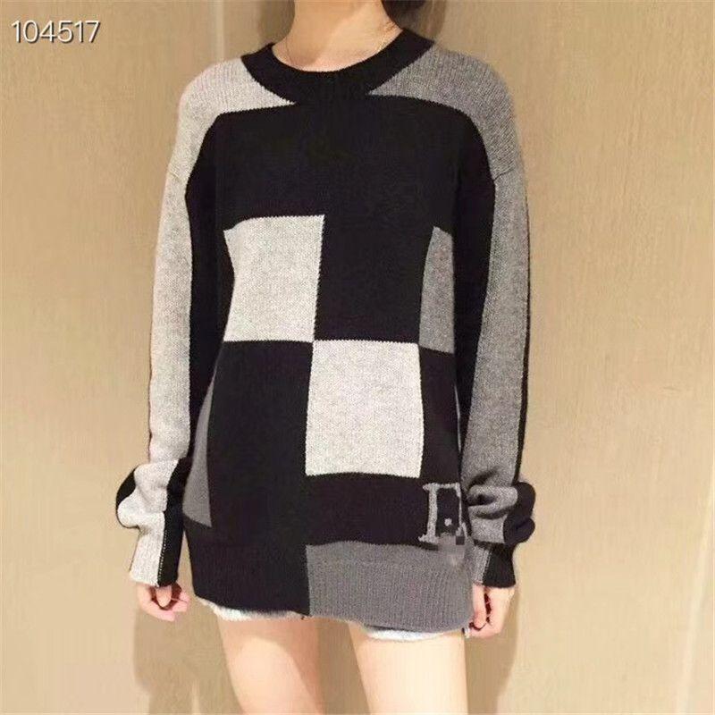 a38714b6e8e Brand DIO Women Sweaters Striped Pullovers Autumn Winter Long Sleeve ...