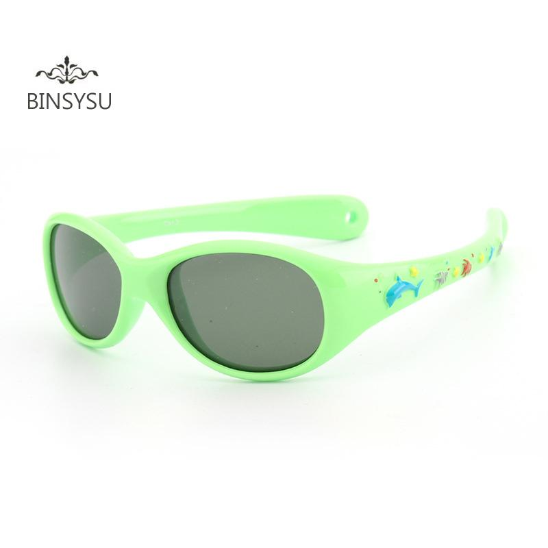 10777ed57b2 2019 Kids Little Baby Whale Cartoon Sun Glasses Children Super Light  Silicone Small Size Polarized Lenses Mirror Children Sunglasses From  Sightly