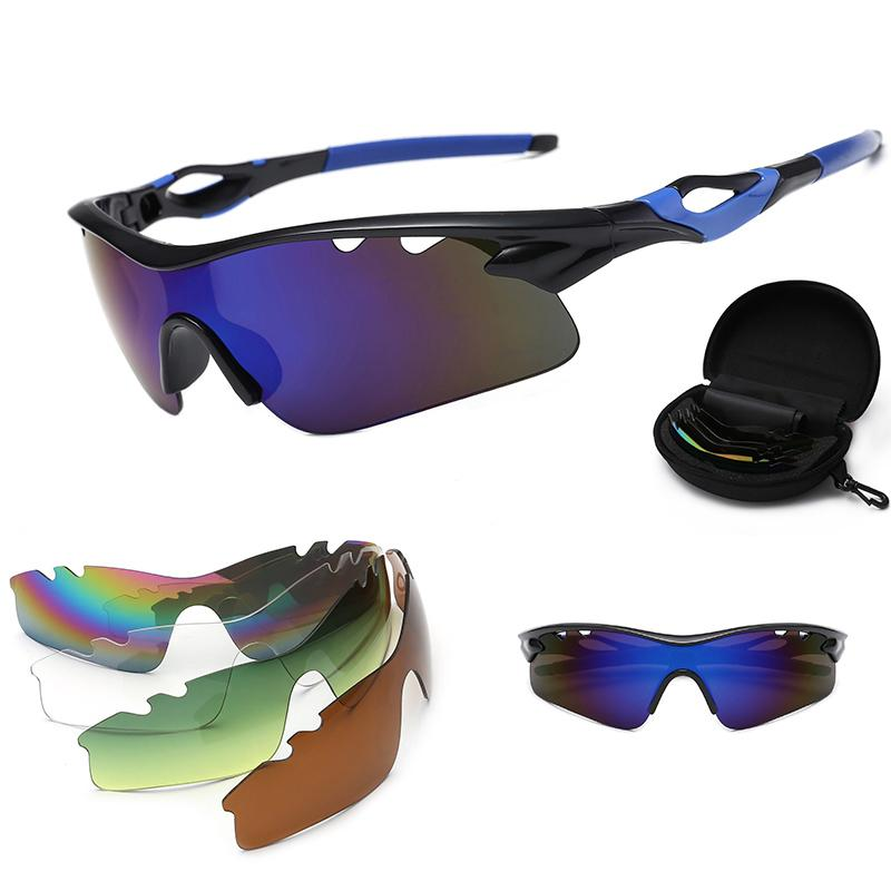 36802c75b46cb Men Cycling Glasses Photochromic Bicycle Sunglasses MTB Road Bike Glasses  Outdoor Sports Winproof Bike Goggles Eyewear 5 Lens Cycling Eyewear Cheap  Cycling ...