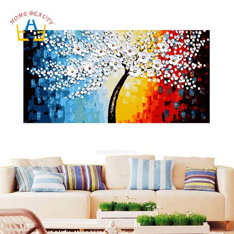 Home Beauty 50 100 Diy Para Colorear Por Números Imágenes Abstractas Sala De Estar Pintura Por Número Dibujo Modular Sobre Lienzo Dy31 Y18102209