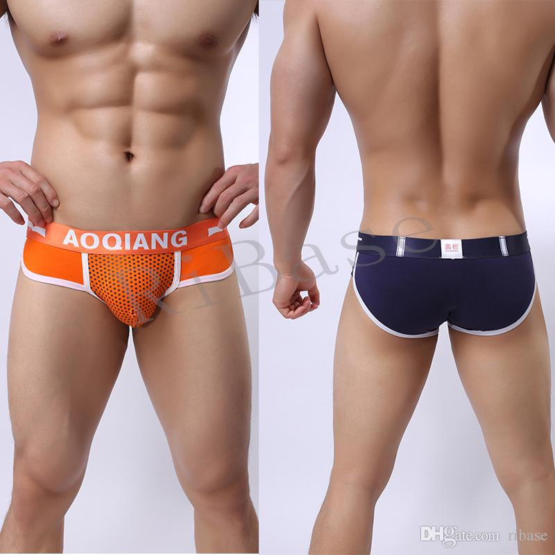 2018 vendita calda di marca maschile biancheria intima uomo slip biancheria intima slip uomo cotone mutande di alta qualità sexy boxer uomo biancheria intima