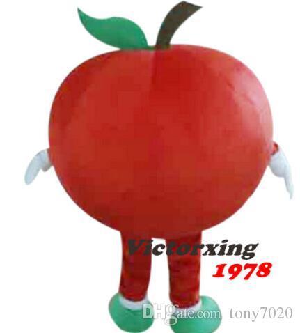 Il nuovo costume adulto sveglio di marca di BRAND del fumetto del nuovo di colore rosso professionale della mascotte del costume operato del costume operato del partito di vendita libera la nave