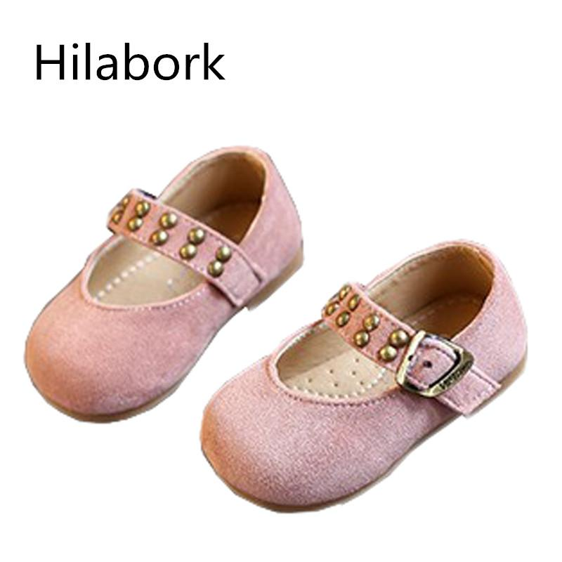 9d933575fc21 2018 Autumn New 0 1 Year Old Girl Fashion Simple Baby Toddler Shoes Girls  Pink Party Shoes Flower Girl Childre Leather Shoe Baby Leather Shoes Uk  Leather ...