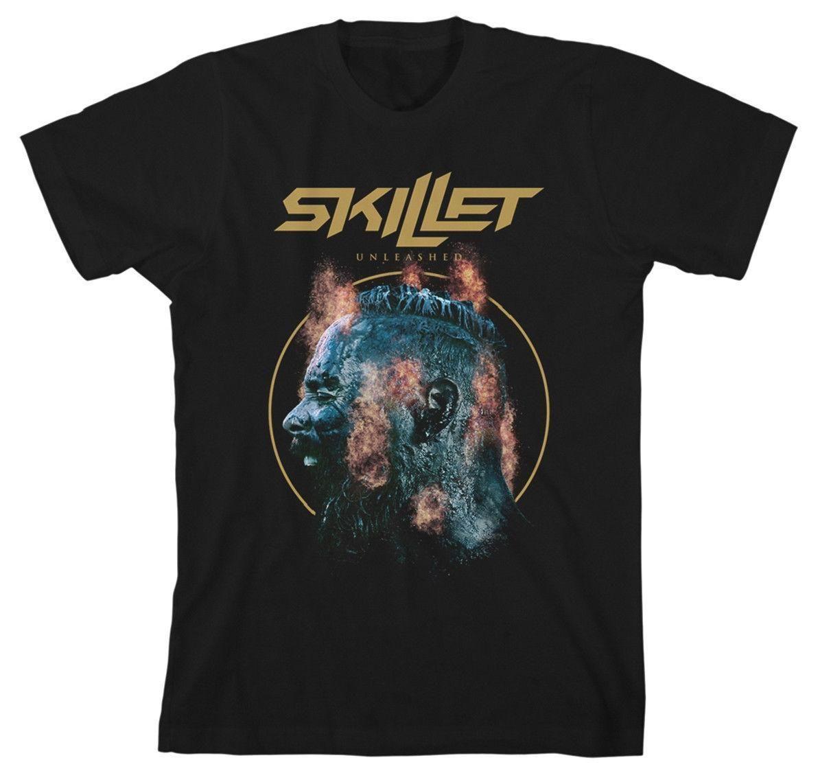 skillet Unleashed Explosión T-SHIRT - Nuevo y Oficial