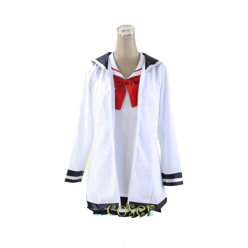 Coser Japanese Anime Houkago no Pleiades Subaru Role Cosplay Costume Clothes Coat & Dress Girl School Uniform Suit