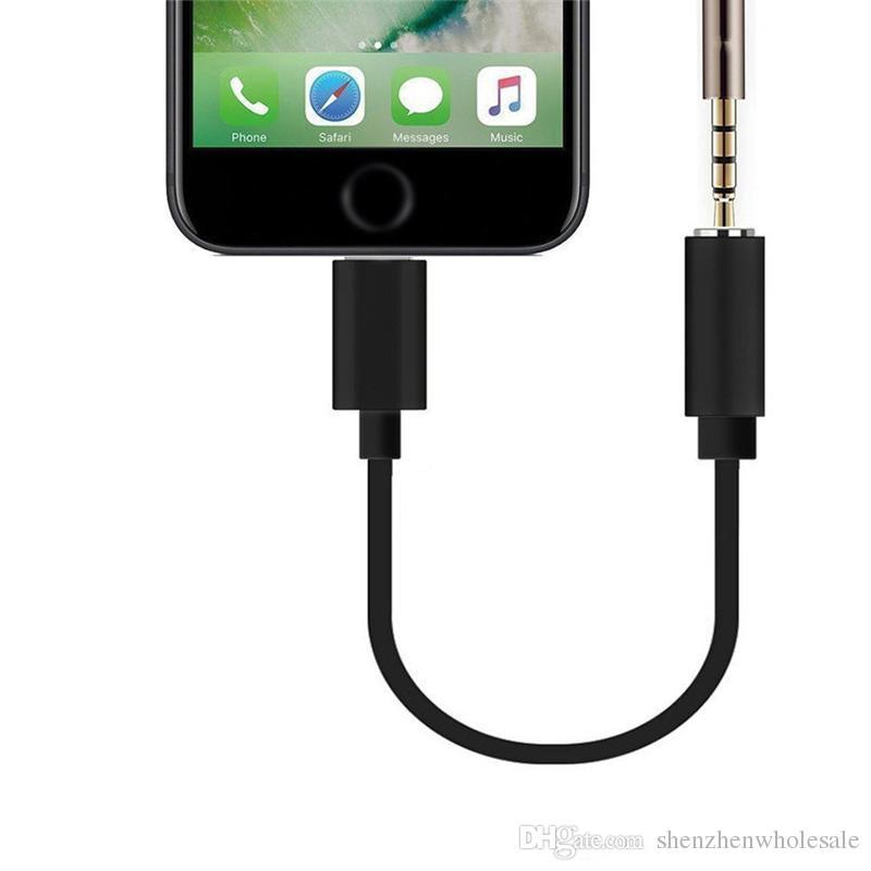 Adattatore per cuffie da 3,5 mm per iPhone 7/8 Plus X Adattatore per cavo  adattatore per telefono Cuffie per ascoltare musica in linea