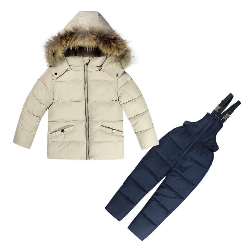 3fdb128e9 Kids Clothes Boys Girls Winter Down Coat Children Warm Jackets ...