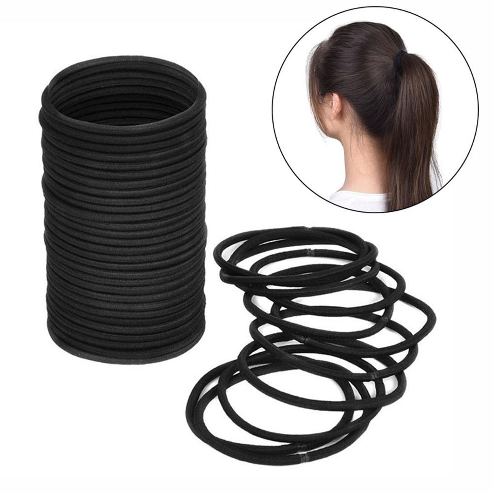Black Thick Snag Free Endless Hair Elastics Hairbands Ponytail Hair Ties  Ties Ties Tie Hairbands Tie Hair Online with  24.69 Piece on Hilarye s  Store ... a09796e1fd7
