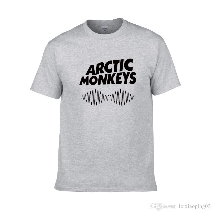 Arctic Monkeys T-shirt da uomo Indie Rock and Roll a maniche corte O-Collo Allentato Thisrts Musica Marca Estate nuovo Hip hop Uomo T-shirt