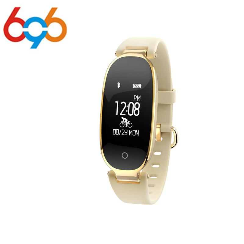 c9e168bef 696 S3 Smart Watch Fashion Women Ladies Heart Rate Monitor Fitness Tracker  Sport Wristband Smart Watches For Android Best Sport Smart Watch Best Womens  ...