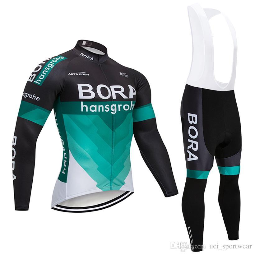 2018 TEAM BORA Ciclismo Jersey Ropa De Bicicleta Pantalones Set Hombre 9D  Almohadillas Ropa Ciclismo Invierno Térmico Fleece Ciclismo Ropa Ropa De  Bicicleta ... 55e101cc149f1