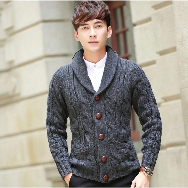 7916a62614 Giacche da maglioni per uomo Capispalla e giacche verdi grigie Giacca  sportiva sottile da giacca sportiva da giacca stile americano