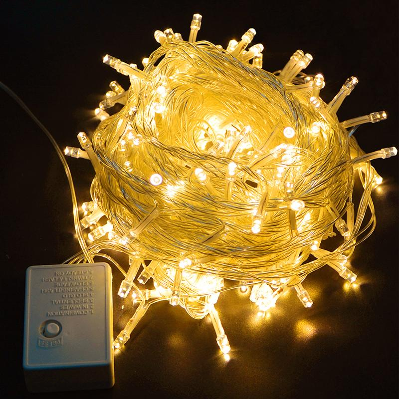 Outdoor Fairy Lighting 10m100led string lights christmas holiday light outdoor fairy 10m100led string lights christmas holiday light outdoor fairy lights waterproof for party weddinggarden decoration string of lights string light from workwithnaturefo