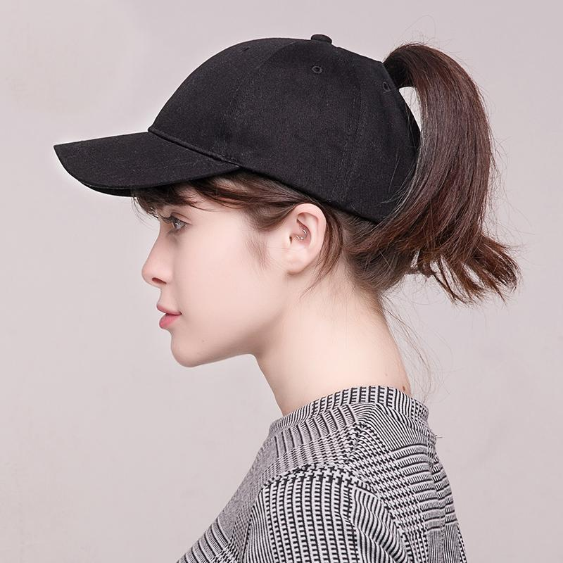 Baseball Caps Fashion Women Design Women Summer Sport Messy Hat Cap Ponytail  Outdoor Sunscreen Hat Nylon Fastener Tape C Wholesale Hats Caps Online From  ... d9208deb63e
