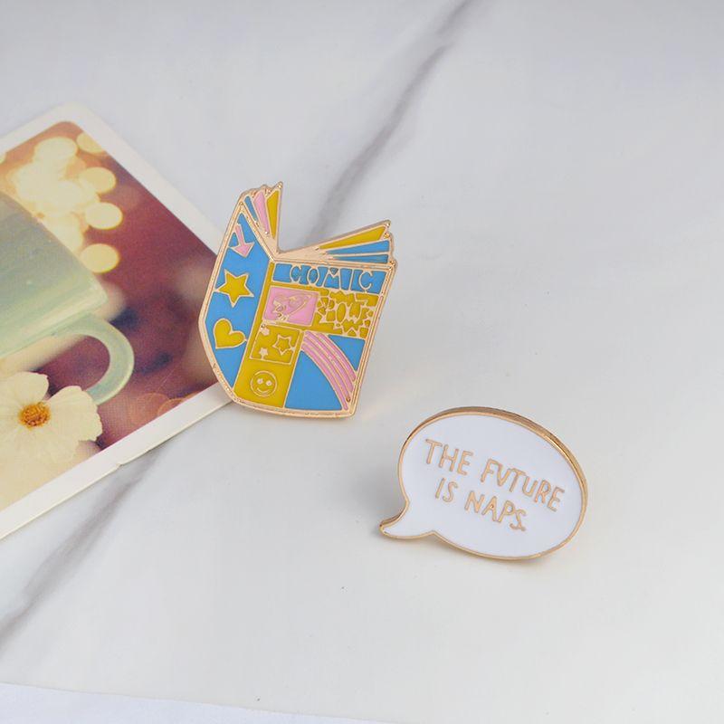 COMIC Black book PEOPLE TO KILL Bookstore Brooch Denim Jacket Pin Buckle Shirt Badge Cartoon Jewelry Gift for kids