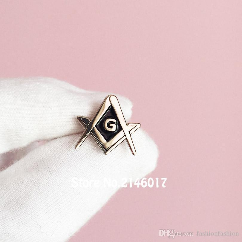 Freemason Master Masons Masonic Lapel Pins Metal Badge Square And Compass  with G Pin And Brooch Masonic Lapel Pin Custom Pin Badge Online with   94.62 Piece ... 0f593da1e336