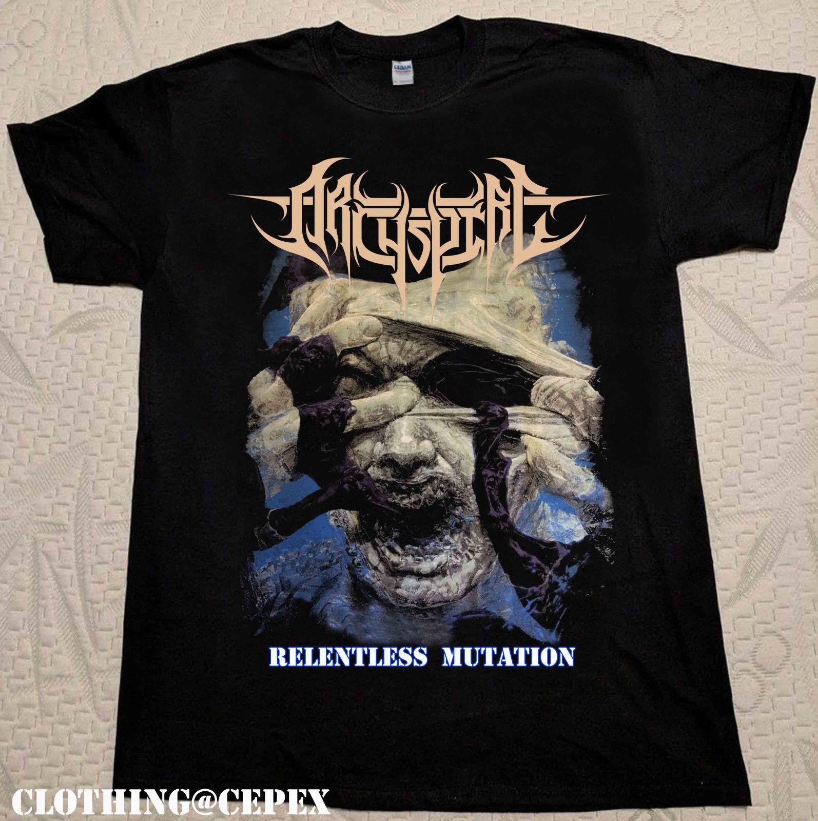 891de466 Rare Archspire Relentless Mutation T Shirt New Short Sleeve Black S 3xl Hot  Selling 100 % Cotton T Shirts Top Tee Plus Size Interesting T Shirts T  Shirt Buy ...