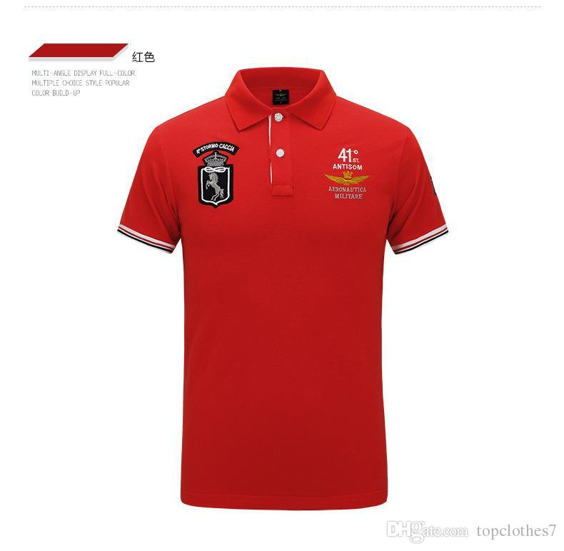 474627422 2019 Polo Shirt Men Luxury Polo Shirts Short Sleeve Mens Basic Top ...