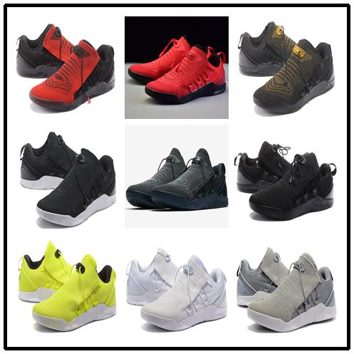 ce89af97428 Alyzee89 With Box Kobe AD NXT Basketball Shoes Hohigh Quality Kobe Bryant  Sneakers Black Mamba Wholesale Prices Us 7 12 Boys Runners Tennis Shoes For  Girls ...