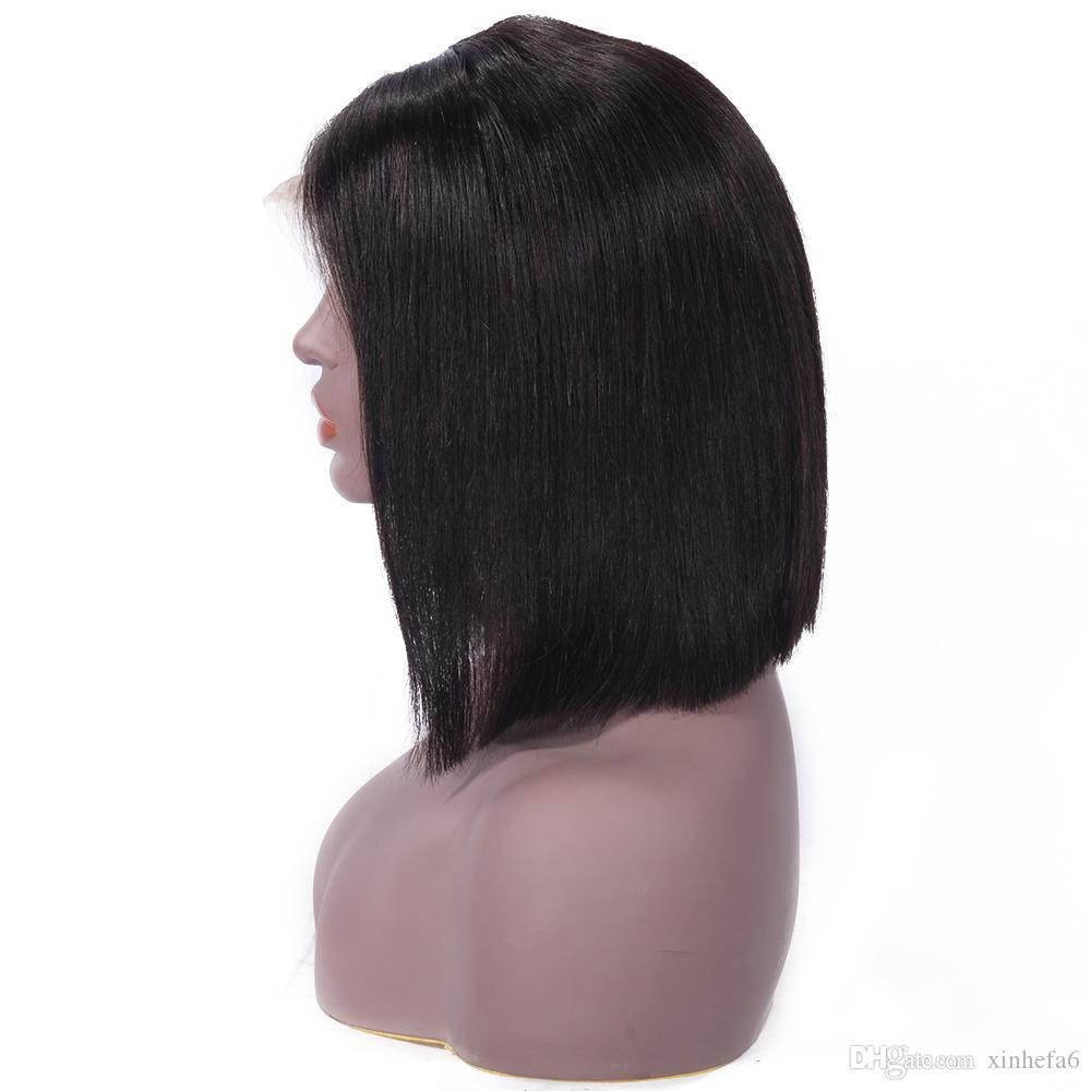 Cheap Brazilian Full Lace Human Hair Wigs For Black Woman Straight Full Lace Wigs Glueless Lace Front Human Hair Wigs