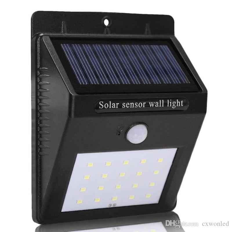 Smart sensor and solar power 20 led wall light pir motion sensor smart sensor and solar power 20 led wall light pir motion sensor outdoor security lamp waterproof garden wall lamp landscape lights led wall light outdoor aloadofball Gallery