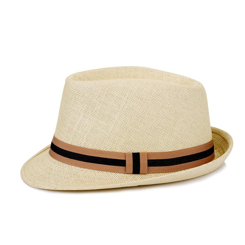 c3a247bcbc2 2019 Hot Sale Summer Men S Hat Korean Popular Fashion Straw Woven Topper  Traveling Casual Sunscreen Shade Hat Ouc3070 From Starlightsdh