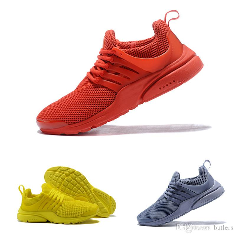 9ca5e8d87bf6f0 2019 2018 Hot Presto 5 Ultra BR QS Black White All Yellow Purple Red Grey Running  Shoes For Women Men Top Prestos V Casual Sports Sneakers 36 45 From ...