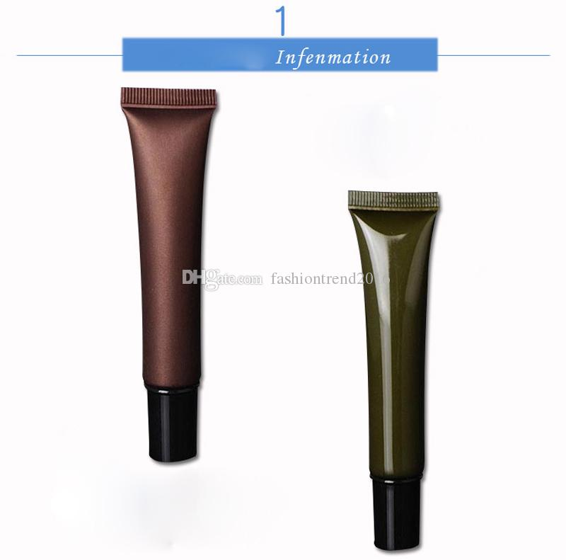 20ml Empty Cosmetic Plastic Packaging Tube Eye Cream Gel Refillable Tube Cosmetic Cream Containers with Lid
