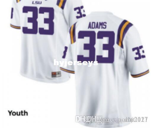 sports shoes 67d59 9a490 Cheap Men #33 Jamal Adams LSU Tigers Alumni Jersey Purple White Stitched  Football Jersey NCAA