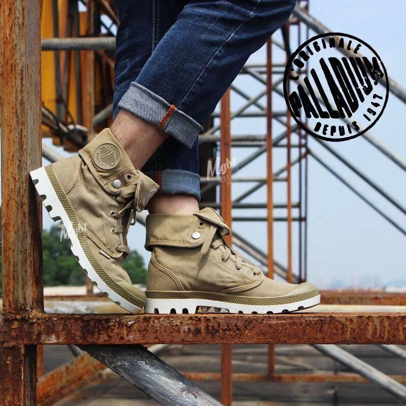 e0f1e52e7238 PALLADIUM Women Baggy Soldiers Boots Comfortable Canvas Casual Shoes  Fashion Shoes Women Boots Size 36 40 Cheap Football Boots Army Boots From  Bestname, ...