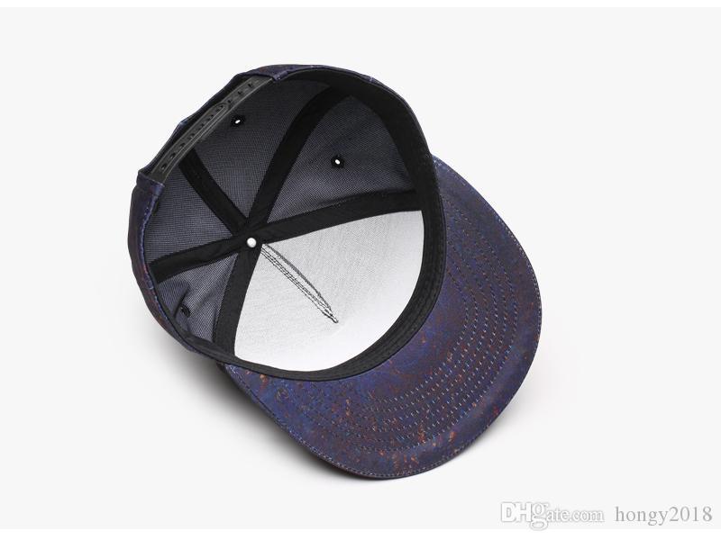 Yüksek Kaliteli Pamuk 3D Baskı Tasarım Hip Hop Kapaklar Snapback Erkekler Kadınlar Çift Moda Sevimli Beyzbol Şapkası