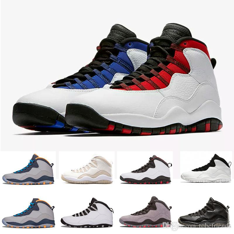 aa75d1942eec Westbrook I M Back 10 10s Men Basketball Bobcats Chicago Cool Grey Powder  Blue Steel Grey Black White Shoes Sports Sneakers SIZE US 8 13 Basket Ball  Shoes ...