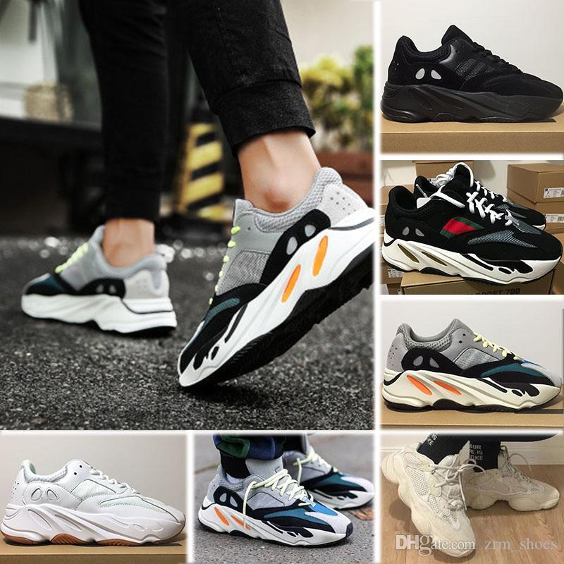 brand new 57a34 6a20b Kaws Acheter Boost Yeezy 700 Adidas Wave Runner Shoes ...