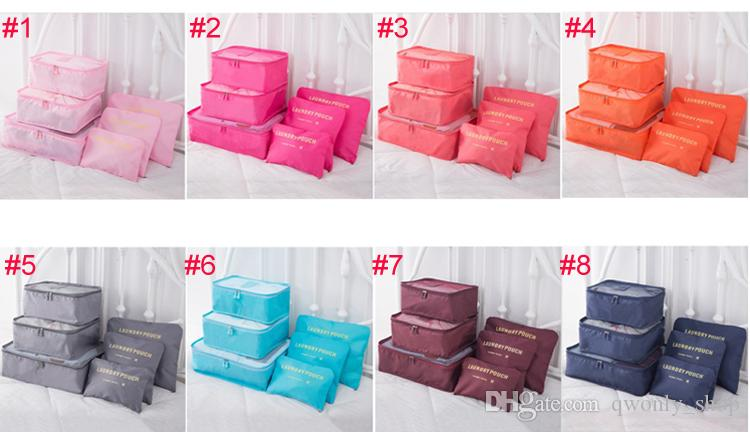 Travel Home Luggage Storage Bag Clothes Storage Organizer Portable Cosmetic Bags Bra Underwear Pouch Storage Bags