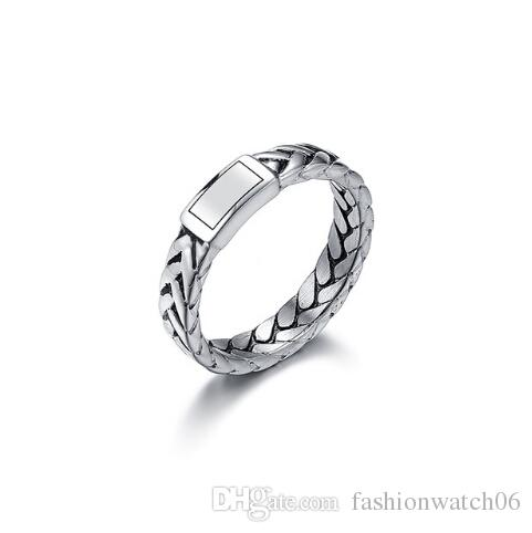 Buddhism Jewelry Motorcycle Women Chain Ring Stainless Steel Men