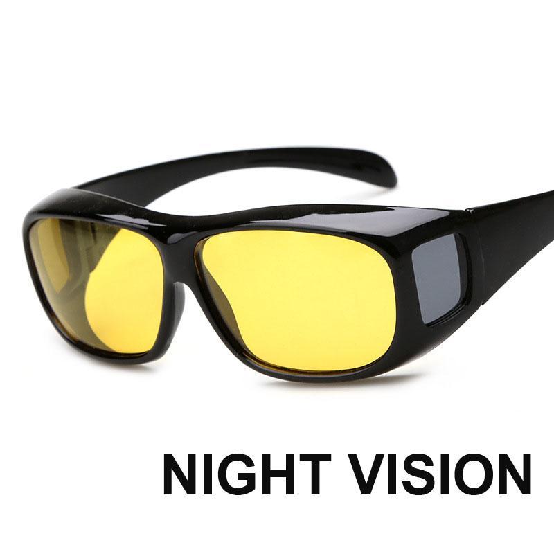 7441ac5a4d6 2018 Night Vision Cover Fitover Glasses Men Women Goggle Mirrors Polarized Sunglasses  Eyewear Oculos Lunettes Cheap Prescription Sunglasses Oversized ...