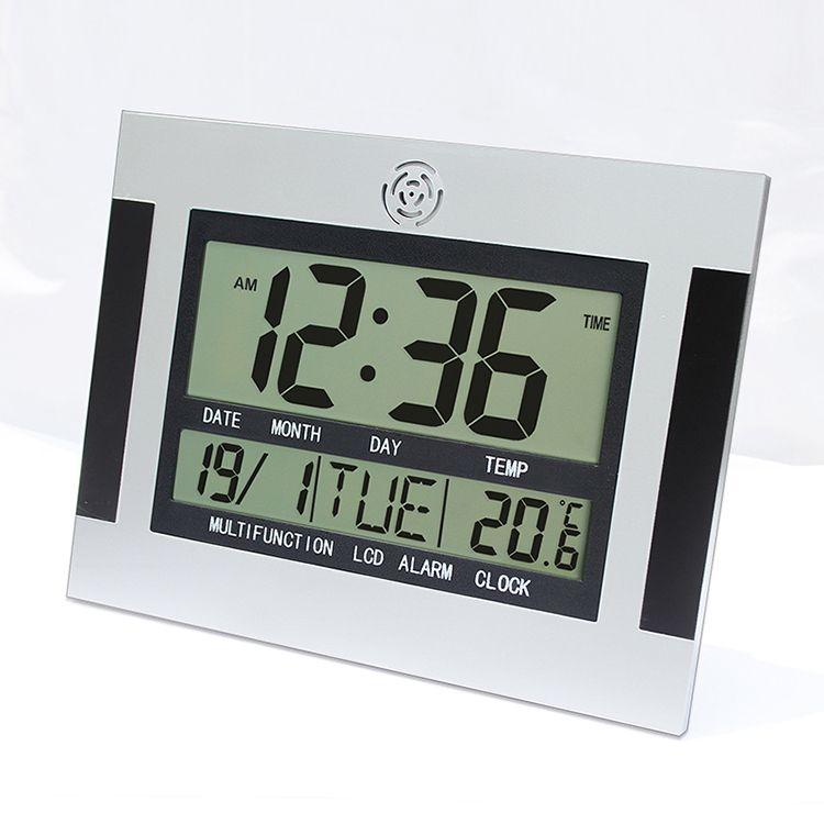 Large LCD Digital Wall Clock Table Kitchen Watch Horloge Mural ...