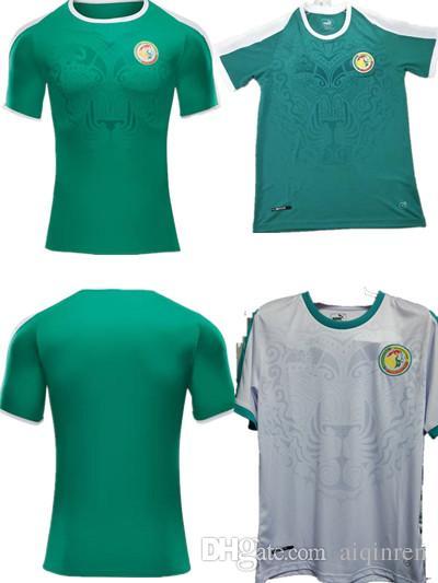 6a446fc1e30 New 2018 World Cup Senegal Home Away Soccer Jersey Senegal National ...